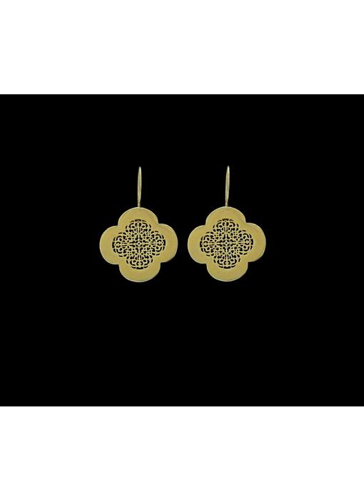 GP CLOVER EARRINGS WITH HOOK