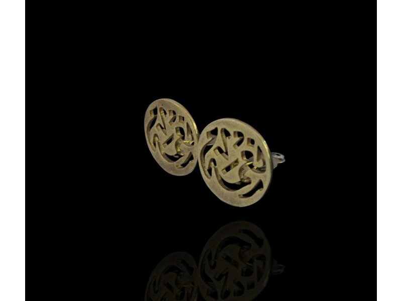 GOLD PLATED NIMA CLIP-ON EARRINGS