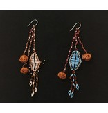 FALLAHI EARRINGS WITH COPPER BEADS