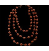 THREE ROW COPPER BEAD NECKLACE