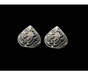 MASHA'ALLAH EARRINGS WITH PIN