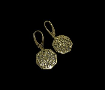 CAIRO EARRINGS WITH GP FRENCH HOOK