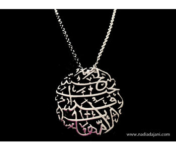 MOTHERHOOD NECKLACE WITH SILVER CHAIN