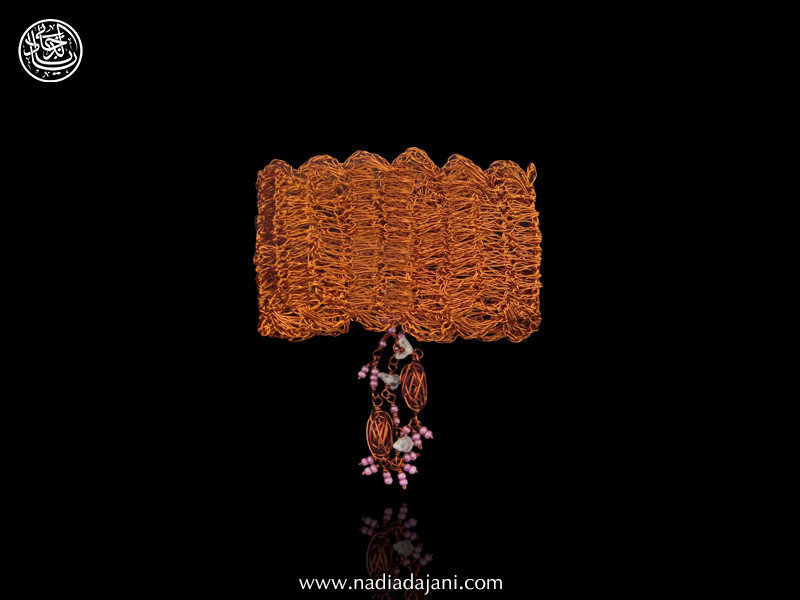 COPPER LACE MESH BRACELET