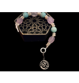 EMBROIDERED BRACELET WITH NIMA