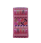 EYEGLASS POUCH RED PINES