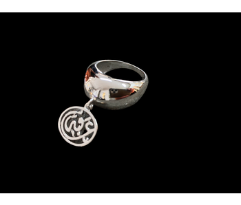 TAPERED RING WITH WORD