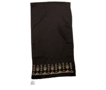 BROWN SMALL SCARF