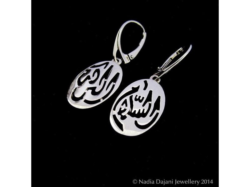 SALAM LARGE EARRINGS WITH FRENCH HOOK