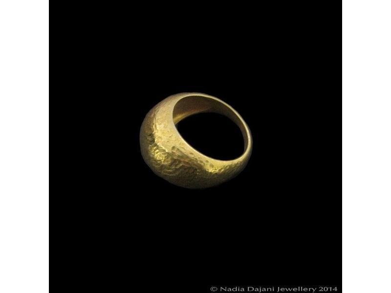 MATT GOLD ROMAN REPLICA RING