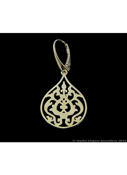 SMALL ARABESQUE EARRINGS GP