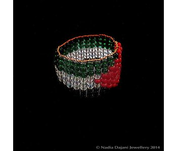 PALESTINE FLAG RING