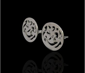 NIMAH SILVER CLIP-ON EARRINGS