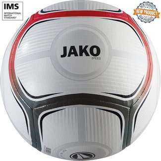 JAKO Trainingsbal Speed Wit-rood-antraciet maat 5