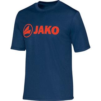 JAKO Trainingshirt Navyblue-flame maat L