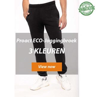 Proact ECO friendly joggingbroek in 3 kleuren