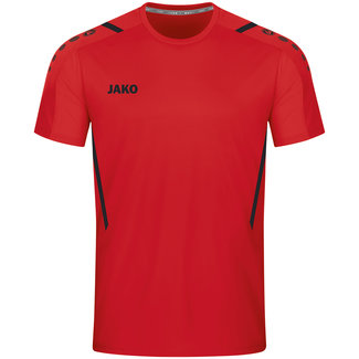 JAKO Shirt Challenge Rood-Zwart