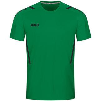 JAKO Shirt Challenge Sportgroen-zwart
