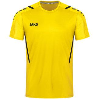 JAKO Shirt Challenge Citroen-zwart
