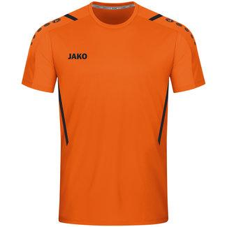 JAKO Shirt Challenge Fluo oranje-Zwart