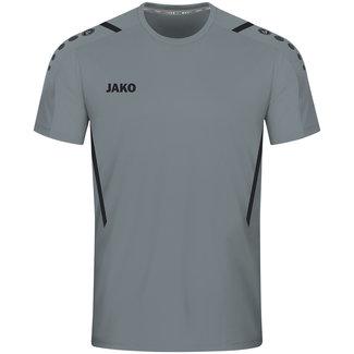 JAKO Shirt Challenge Steengrijs-Zwart