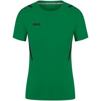 JAKO Shirt Challenge Dames Sportgroen-Zwart