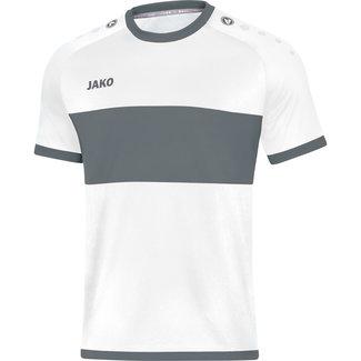JAKO shirt Boca Wit-Steengrijs