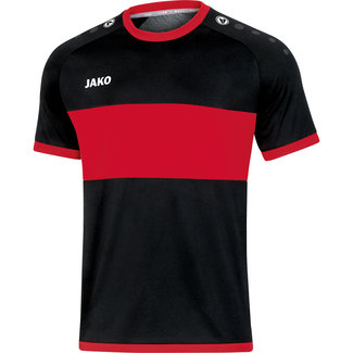 JAKO shirt Boca Zwart-Sportrood