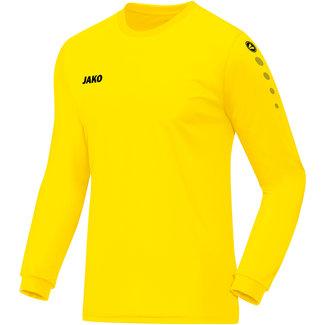 JAKO Shirt Team Lange mouw - Citroen