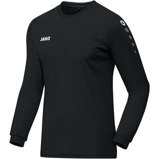 JAKO Shirt Team Lange mouw - Zwart