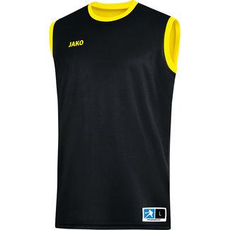 JAKO Reversible shirt Change 2.0 Citroen-Zwart