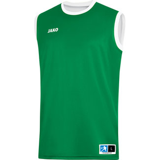 JAKO Reversible shirt Change 2.0 Sportroyal-Wit