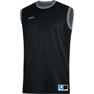 JAKO Reversible shirt Change 2.0 Zwart-Steengrijs