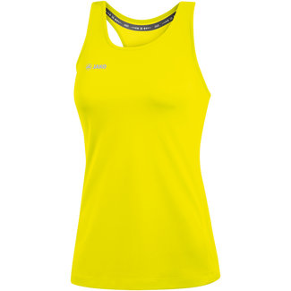 JAKO Tank Top Run 2.0 Dames Fluogeel