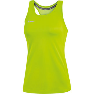 JAKO Tank Top Run 2.0 Dames Fluo groen