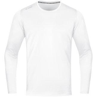 JAKO Shirt Run 2.0 longsleeve Wit