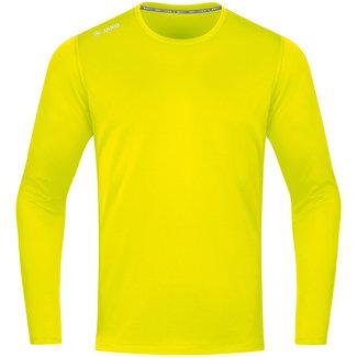 JAKO Shirt Run 2.0 longsleeve Fluogeel