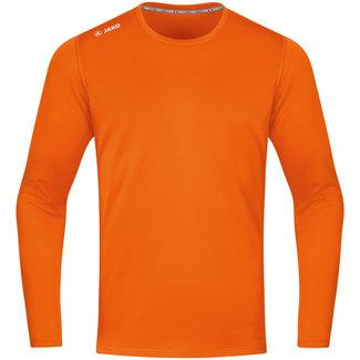 JAKO Shirt Run 2.0 longsleeve Fluo oranje