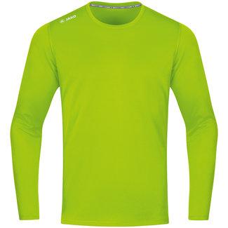 JAKO Shirt Run 2.0 longsleeve Fluo groen