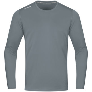 JAKO Shirt Run 2.0 longsleeve Steengrijs