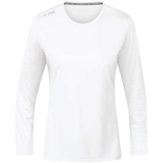 JAKO Shirt Run 2.0 longsleeve Dames Wit