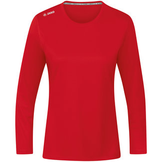 JAKO Shirt Run 2.0 longsleeve Dames Rood