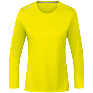 JAKO Shirt Run 2.0 longsleeve Dames Fluogeel