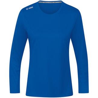 JAKO Shirt Run 2.0 longsleeve Dames Royal