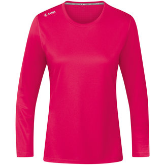 JAKO Shirt Run 2.0 longsleeve Dames Pink