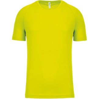 Proact Shirt Basic UNI+KIDS-Fluo Yellow