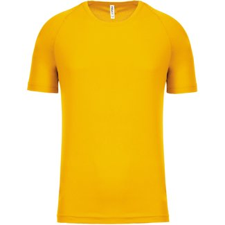 Proact Shirt Basic UNI+KIDS-True yellow