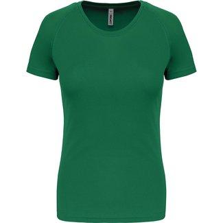 Proact Sportshirt Basic Dames - Kellygreen