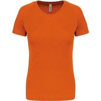 Proact Sportshirt Basic Dames - Orange