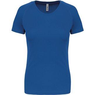 Proact Sportshirt Basic Dames - Sportroyal